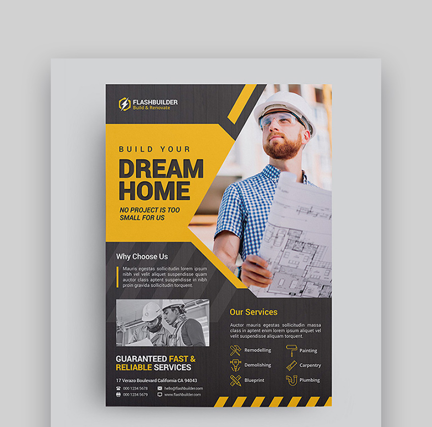 Construction - Best Designed Flyers