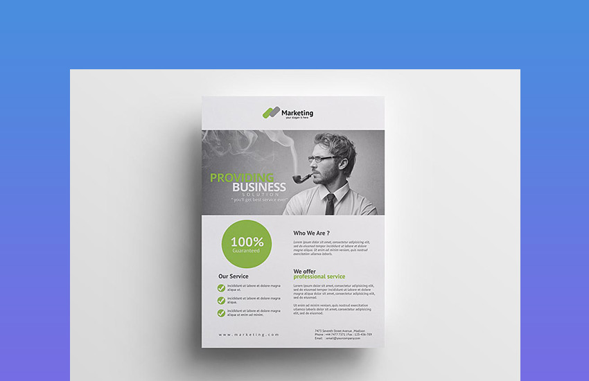 20 business flyer templates with creative layout designs creative business flyer template fbccfo Choice Image