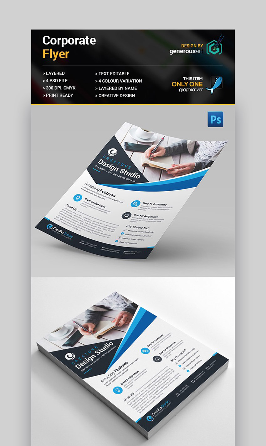 Creative Corporate - Informational Flyer Design