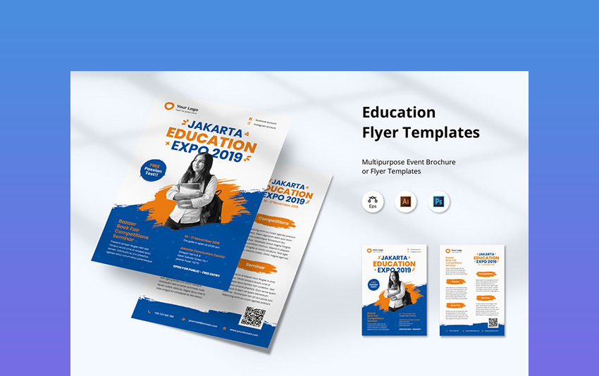 Education - Example of Flyer Template