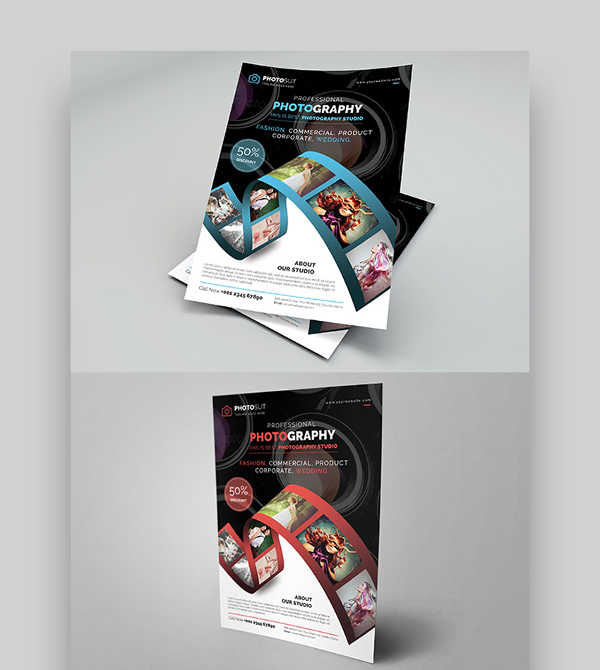 Photography Marketing Template ~ Flyer Templates on ... |Photography Business Flyer Ideas