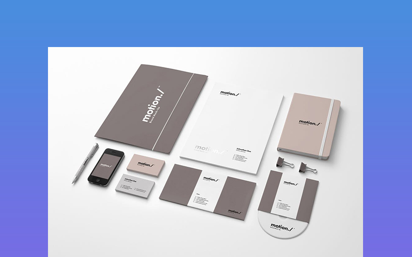 Motion Corporate Branding Materials
