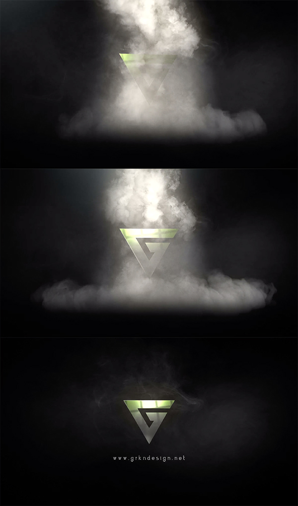 Epic Smoke Smoke - Animated Logo After Effects
