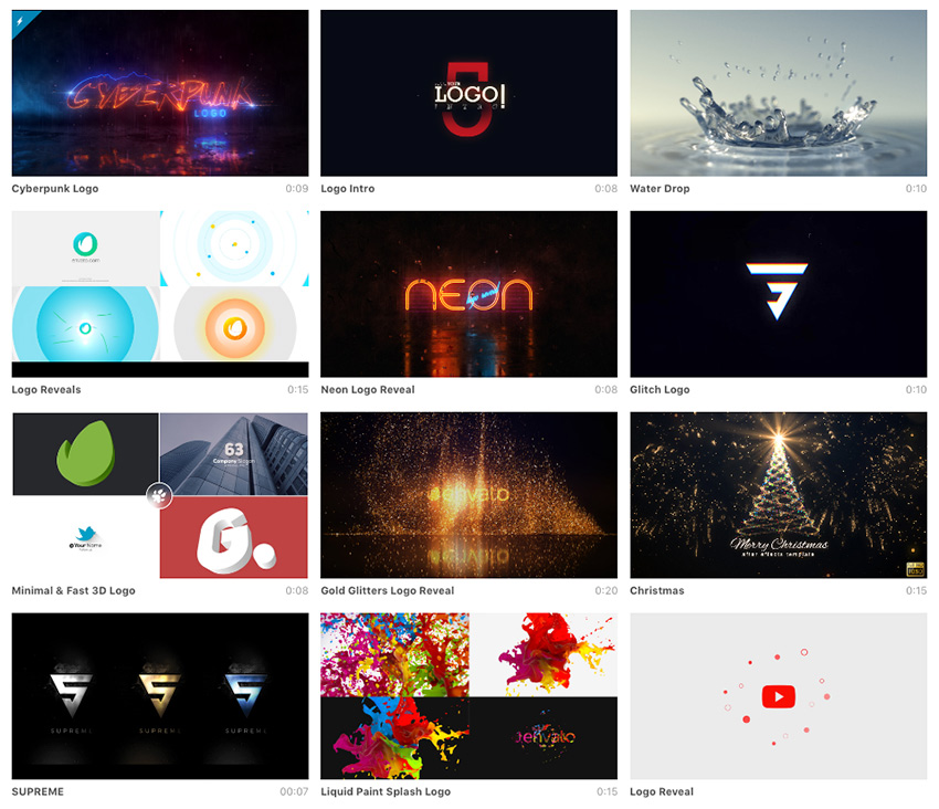 25+ Video Logo Animations (In After Effects) for Your