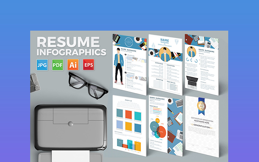Fun Infographics  Creative Resume Design