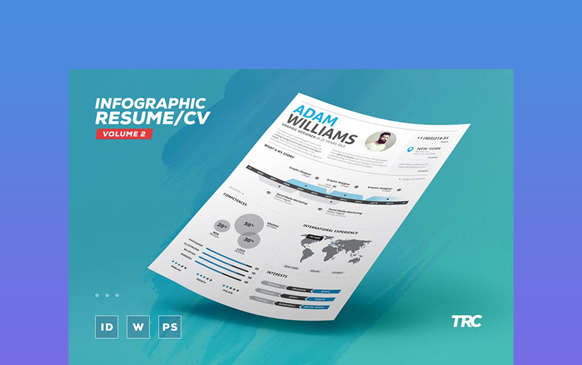 Infographics  Creative Professional Resume