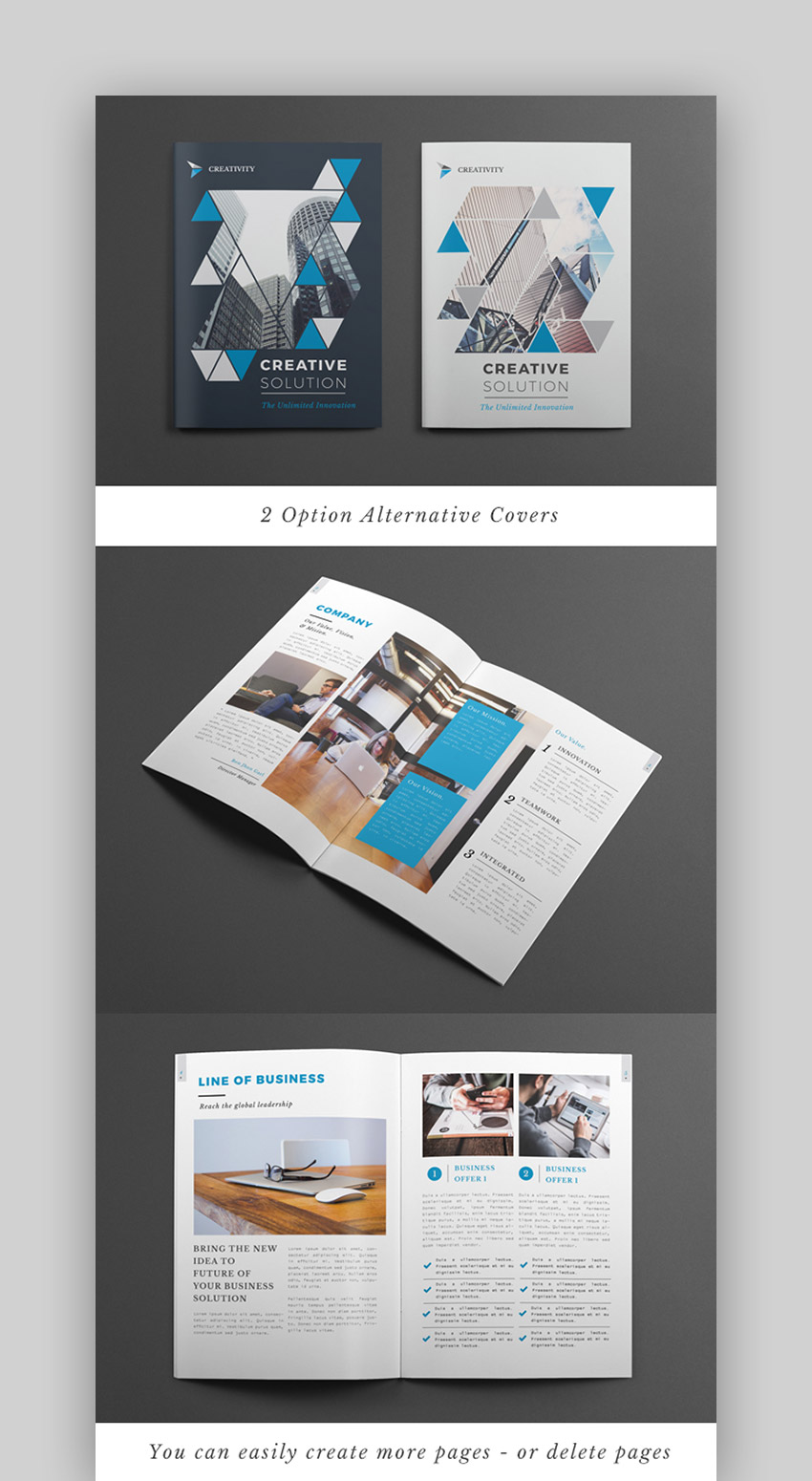 Creative Brochure Templates