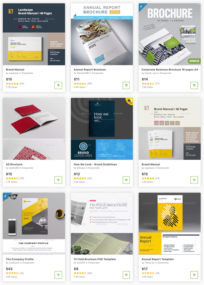 Best Brochure InDesign Templates on GraphicRiver 2019