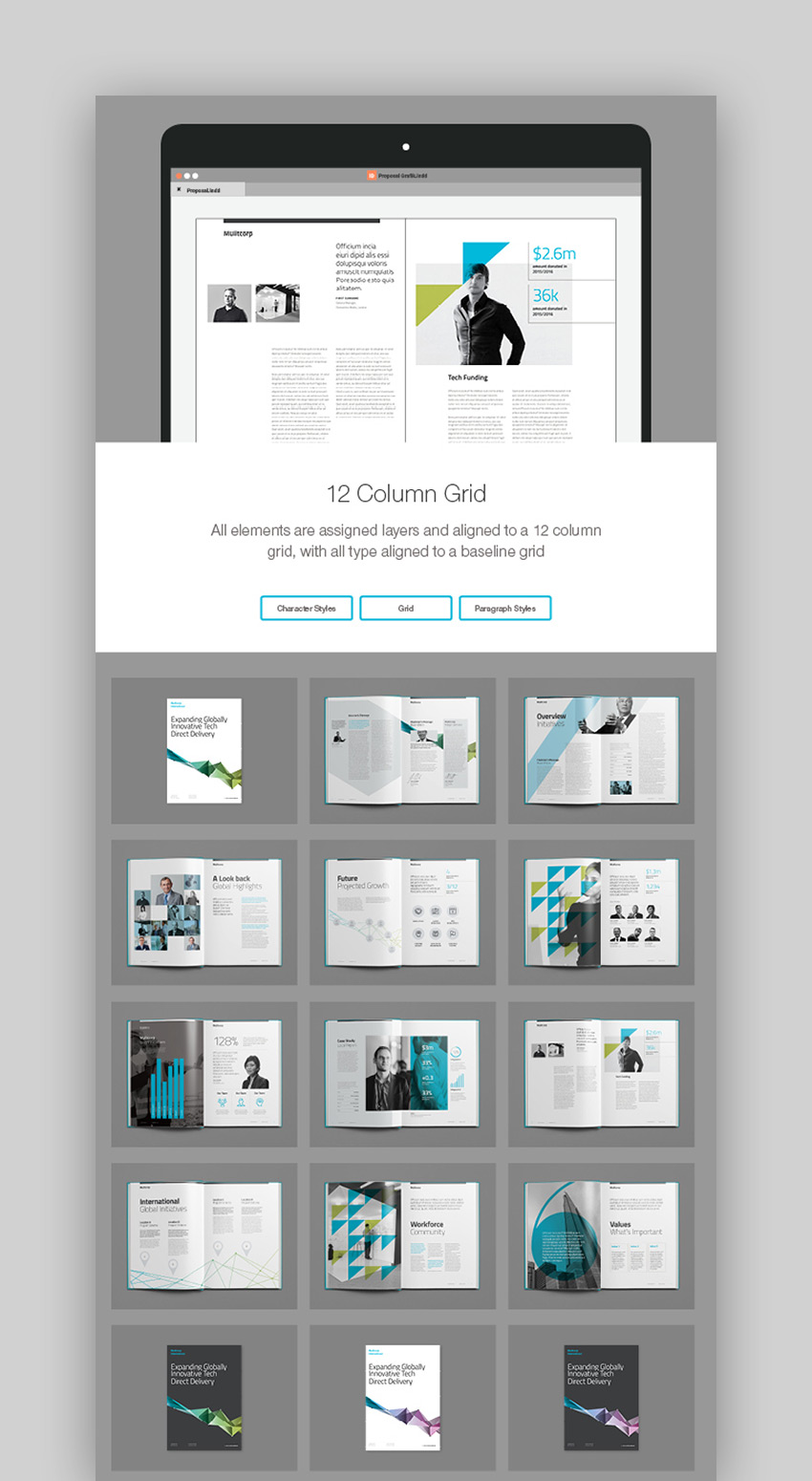 Multicorp Brochure Template - INDD
