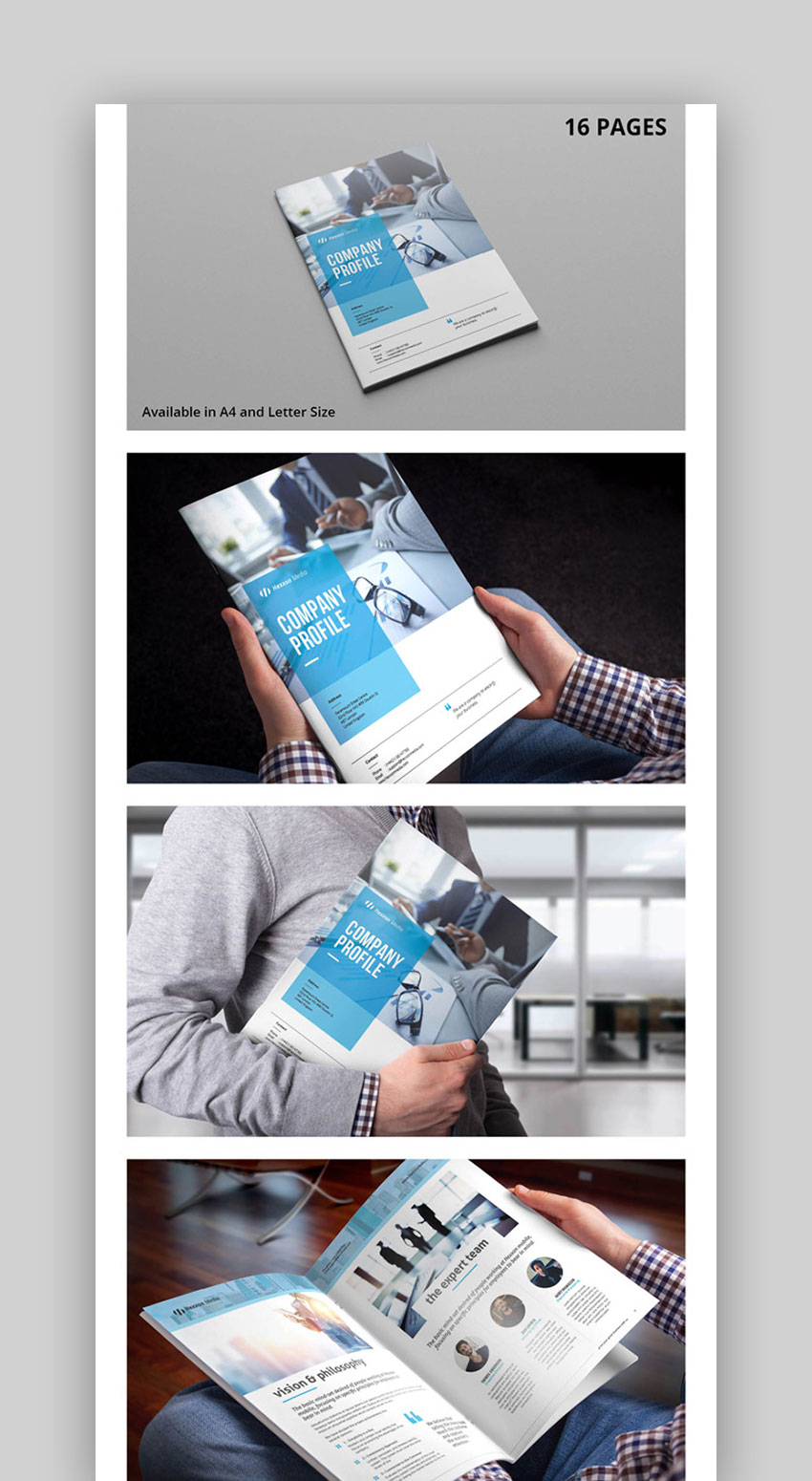 Multipurpose InDesign Corporate Brochure Template