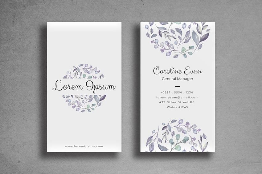 20 Creative Business Card Templates Colorful Unique Designs