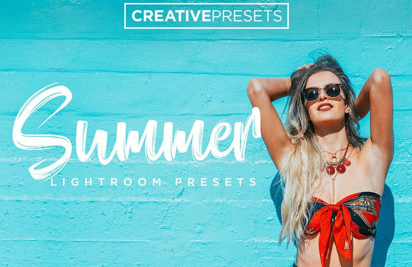 Summer Lightroom Presets