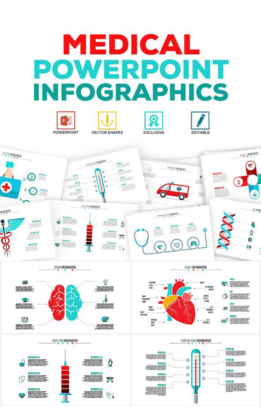 Medical Art - PowerPoint Infographics