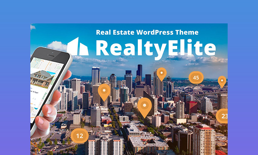 RealtyElite - Real Estate Best WordPress Directory Theme