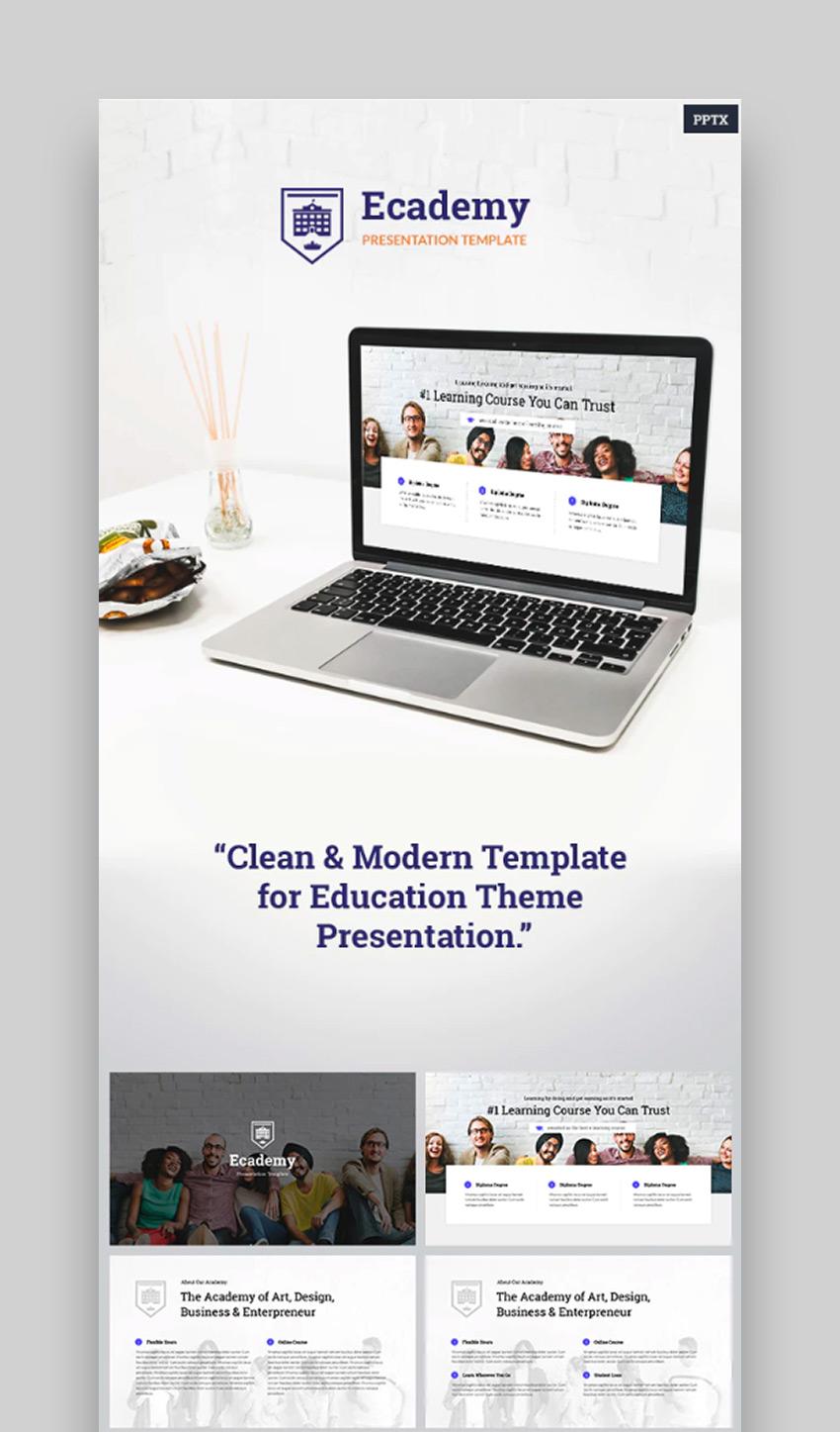 Ecademy - Powerpoint Template