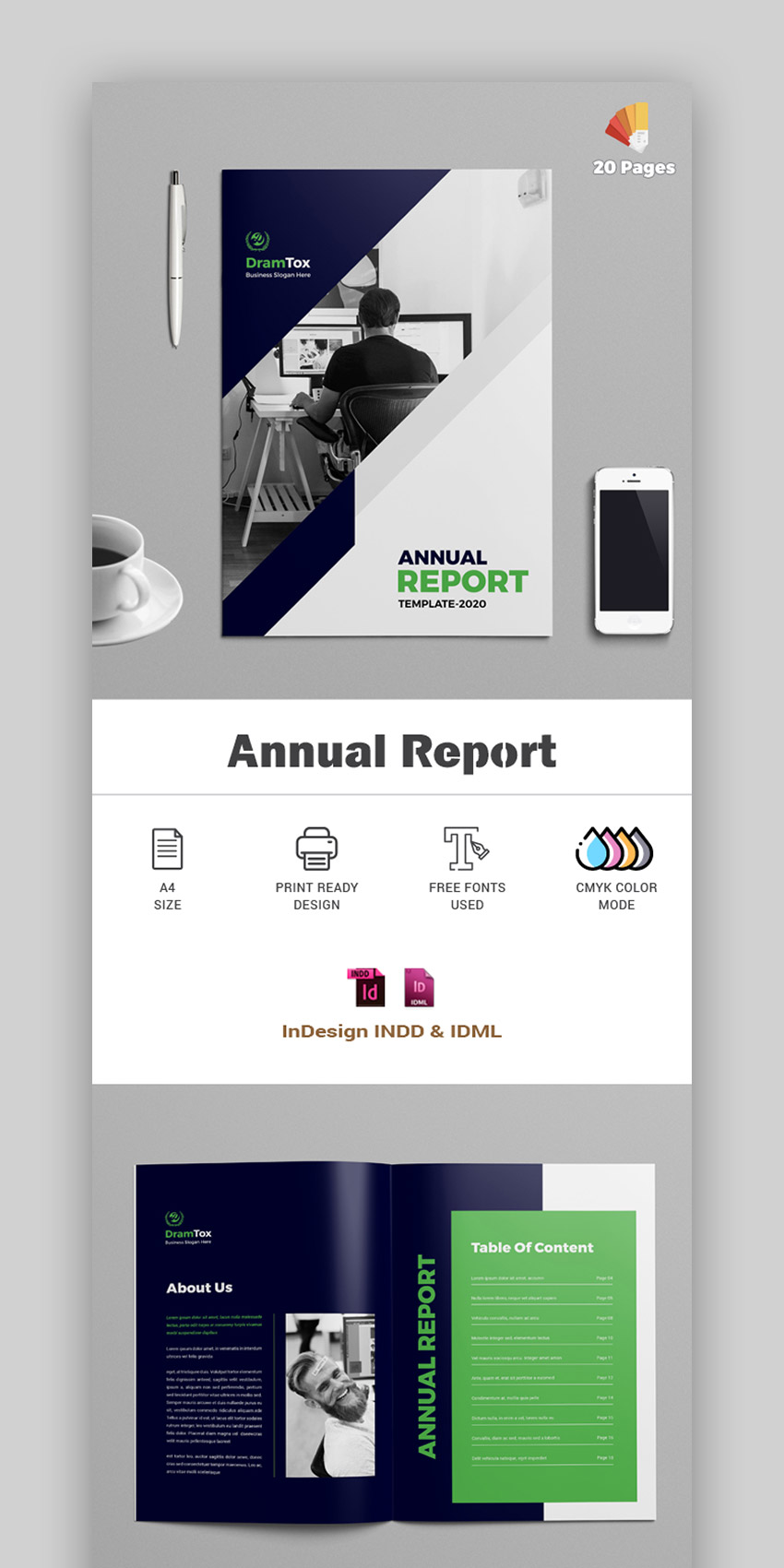 Annual Report Template 2020