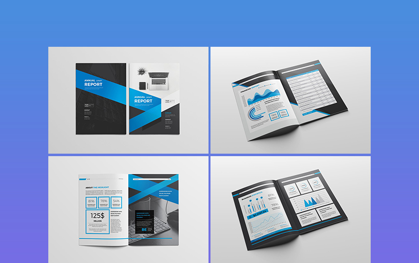 Multipurpose Annual Report Templates