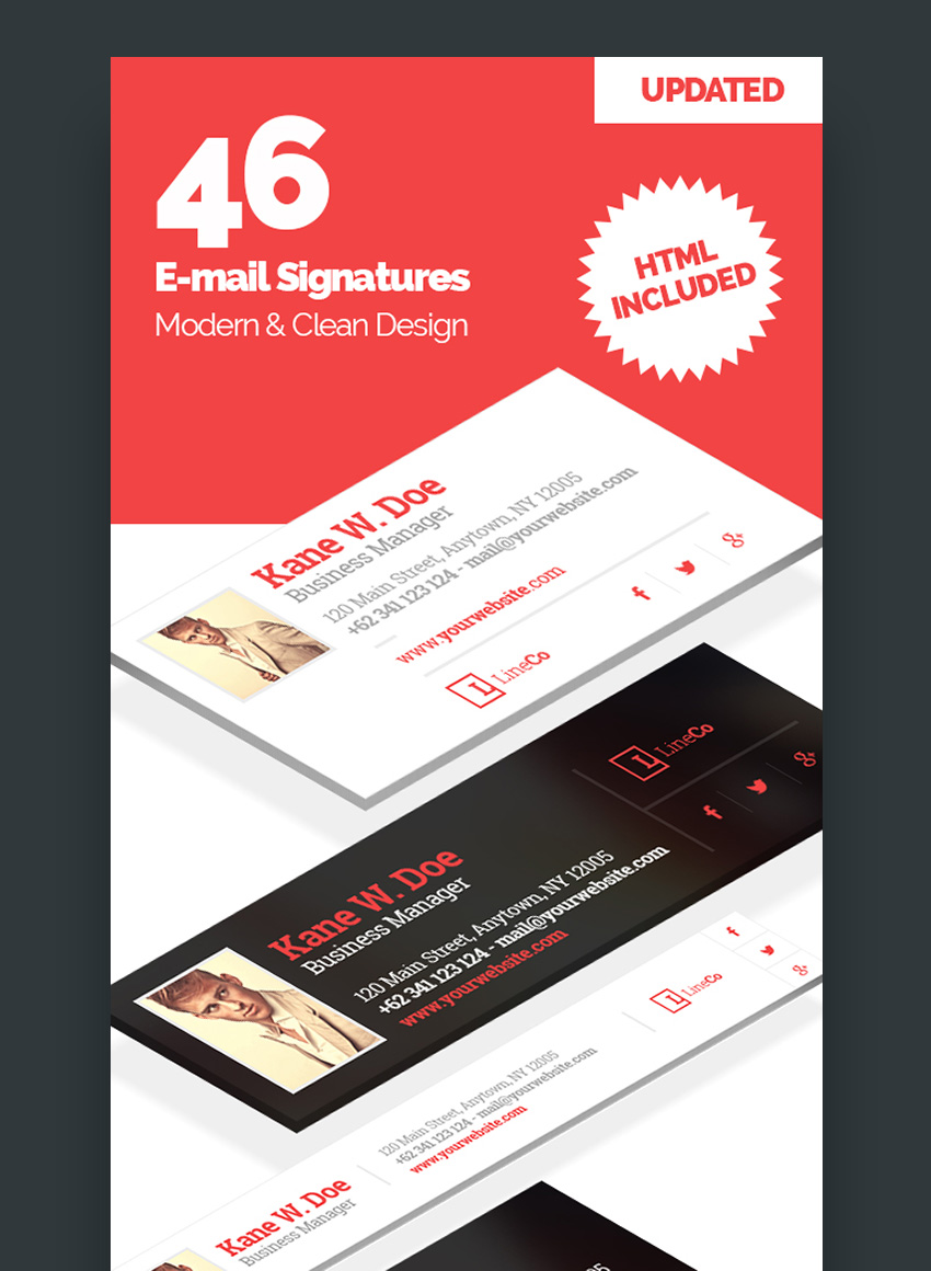 46 Email Signature Templates