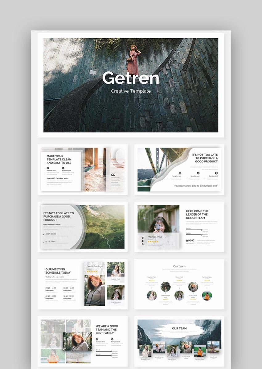 Getren - Best Template for Presentation