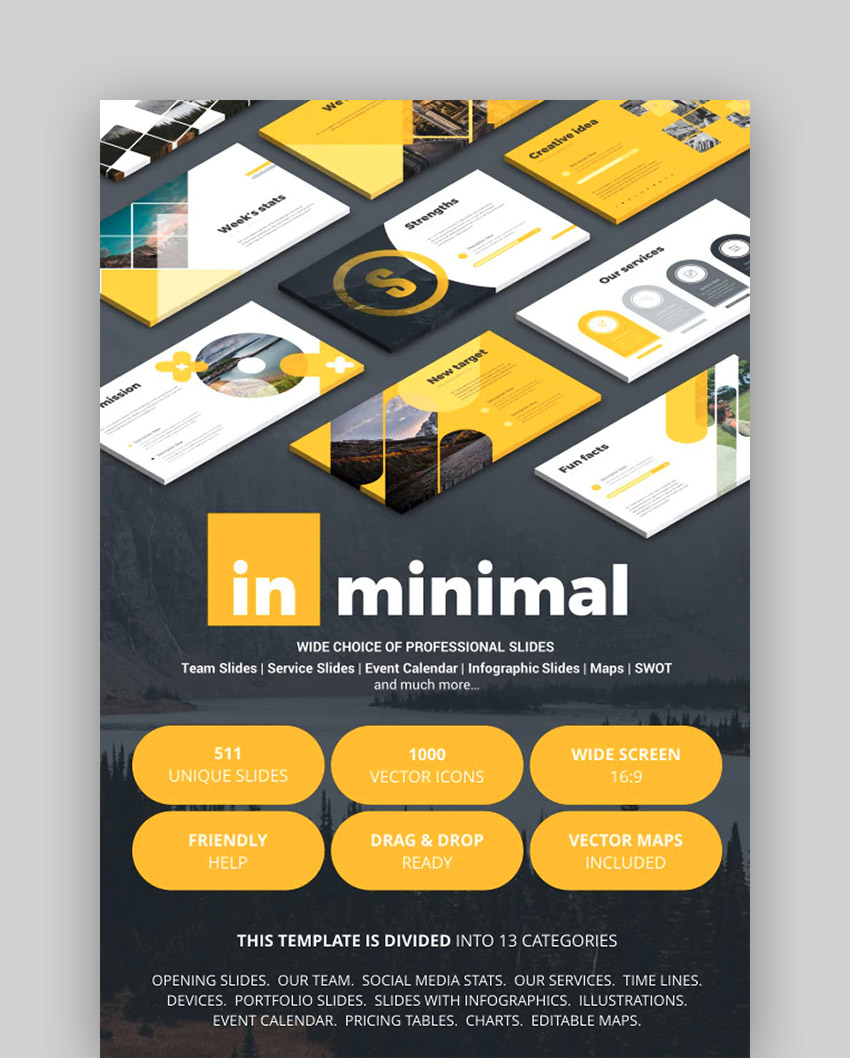 In Minimal - Keynote Template