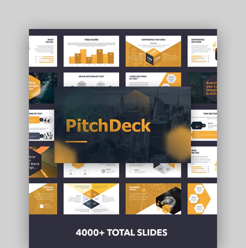 Pitch Deck - Amazing Presentation Template