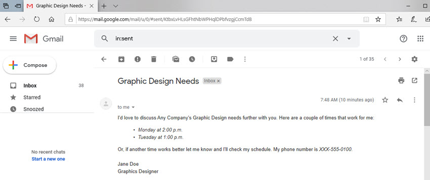 Email closings without a signature template are less impressive