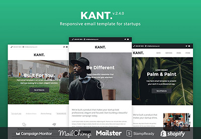 Kant mailchimp template