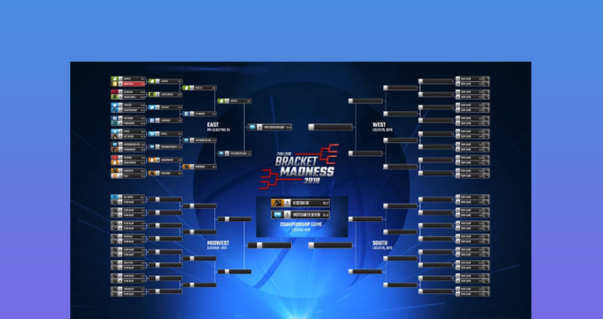 Basketball Brackets  Sports Graphics Package