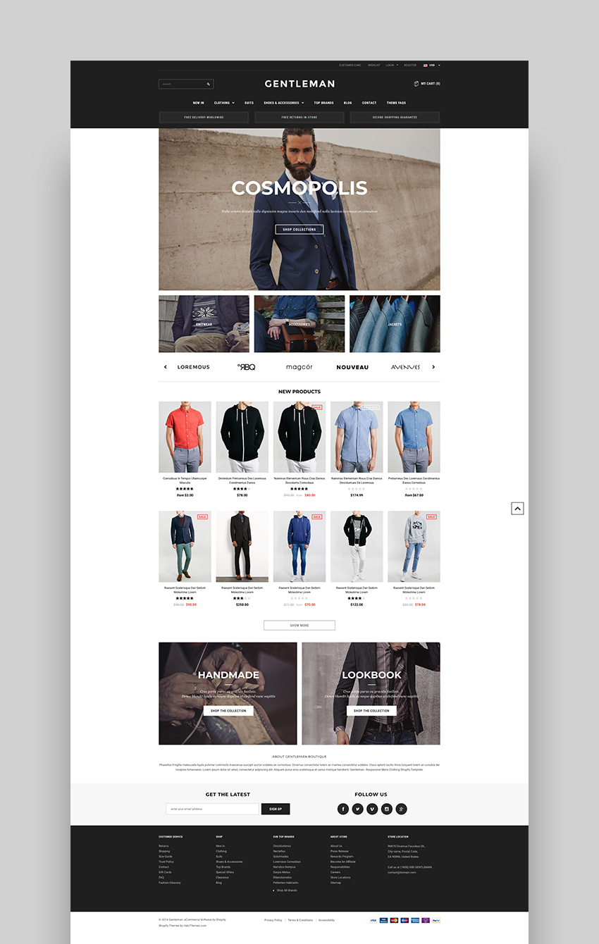 Avenue - Shopify responsive theme