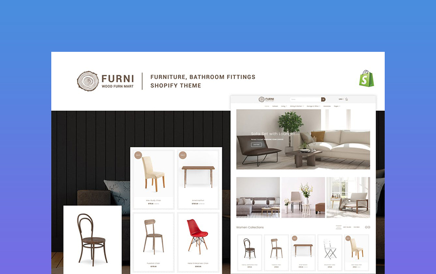 Parallax - Responsive Furniture Theme for Shopify