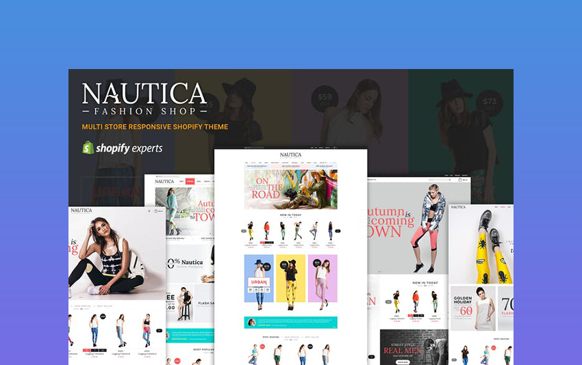 Nautica - Best Converting Shopify Theme