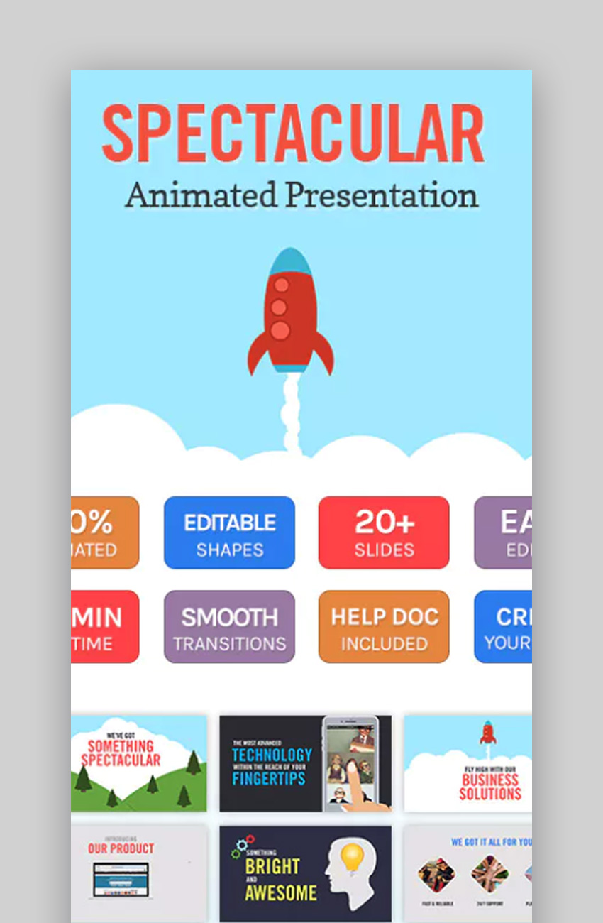 Spectacular Animated Cool Slides Backgrounds