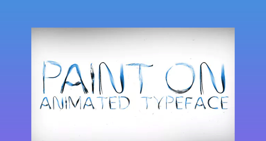 Paint On  After Effects Write on Text