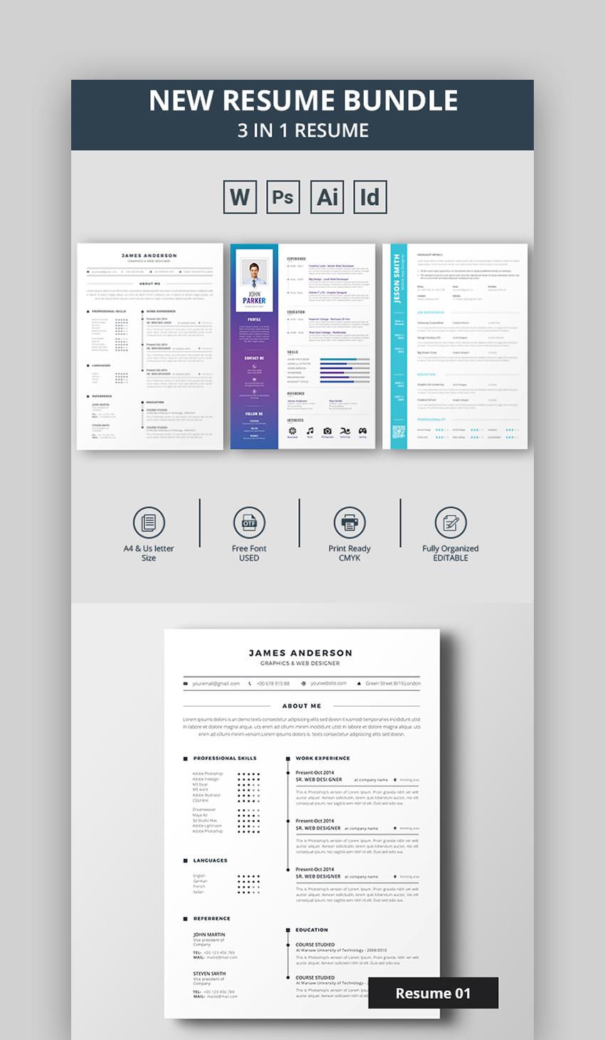 Best Resume Colors Bundle