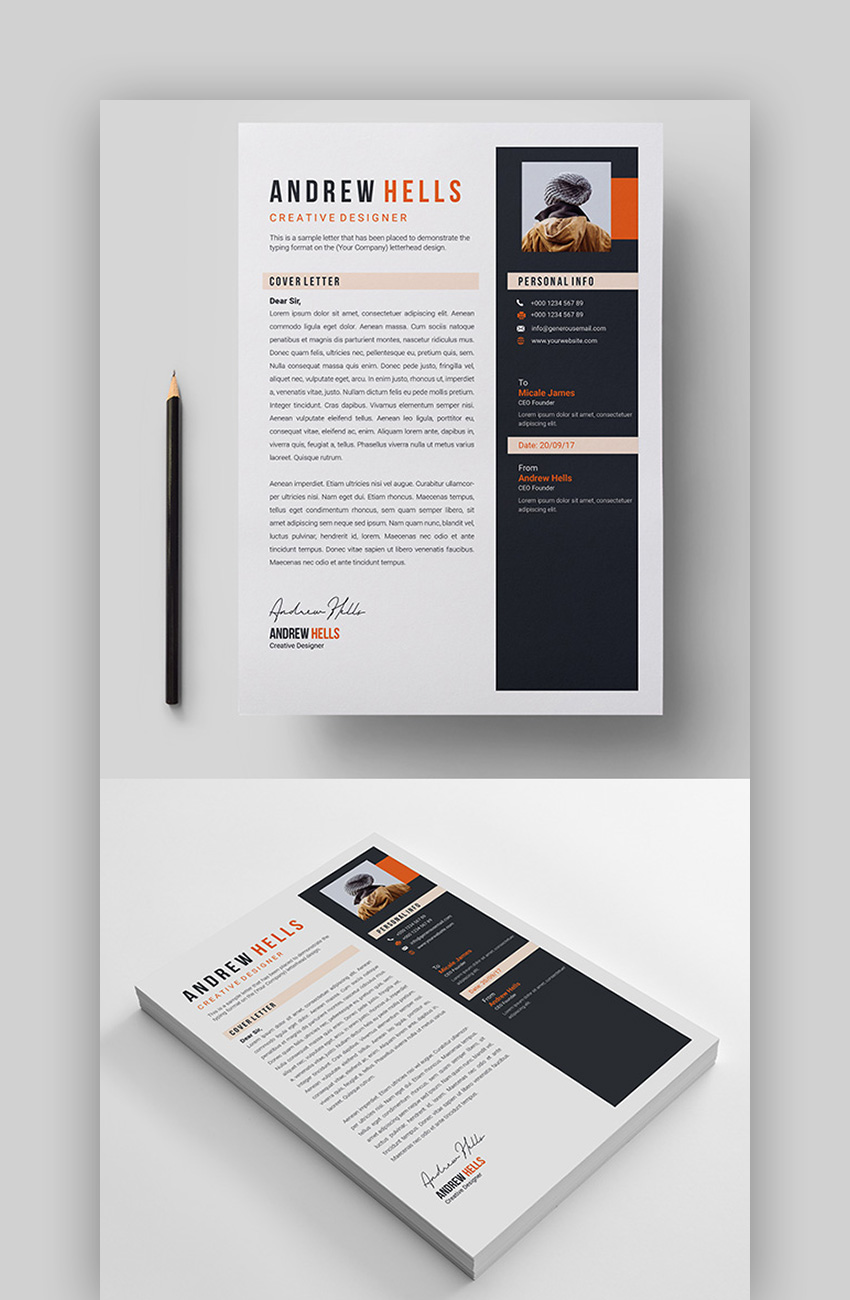 Best Color for Resume Template