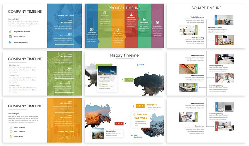 20+ Best Free PowerPoint Timeline and Roadmap Templates