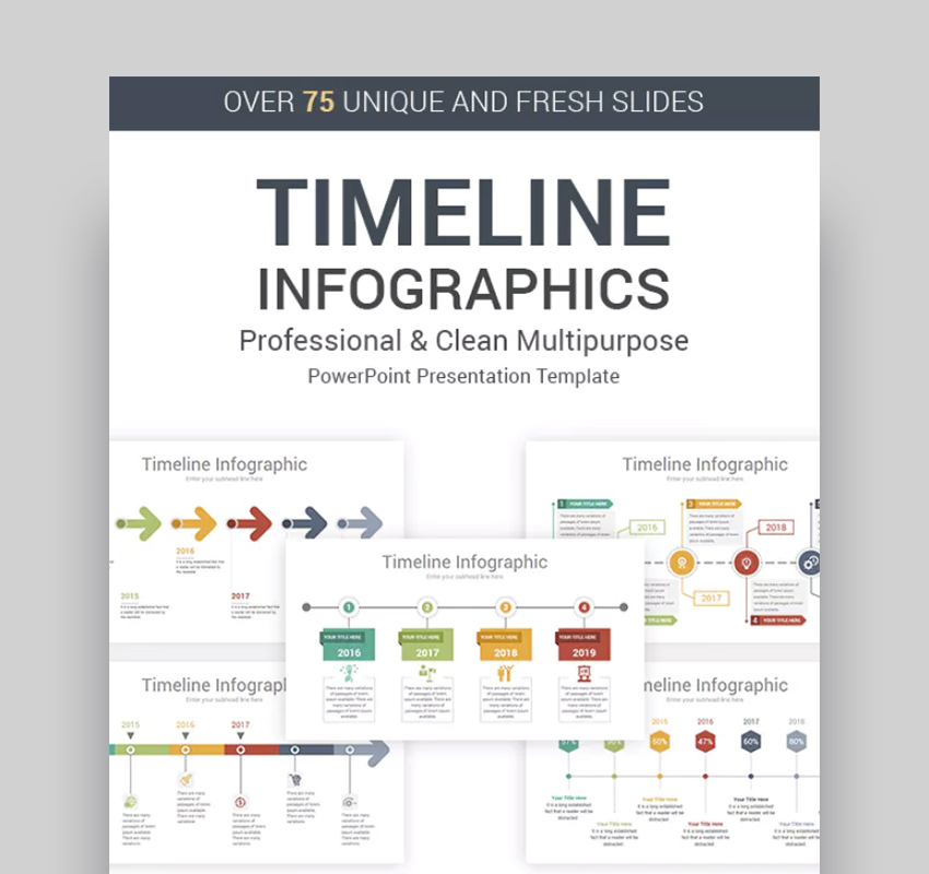 25+ Best Free PowerPoint Timeline And Roadmap Templates