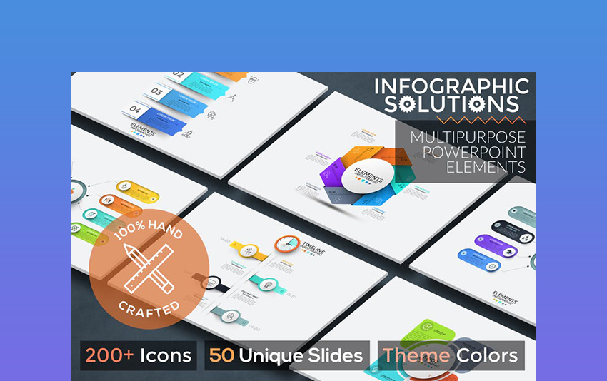 Infographic Solutions PowerPoint Template