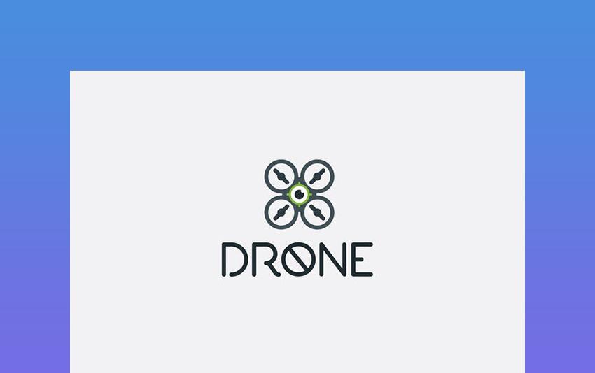 Drone Logo Template