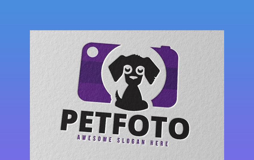Petfoto Photography Logo Idea