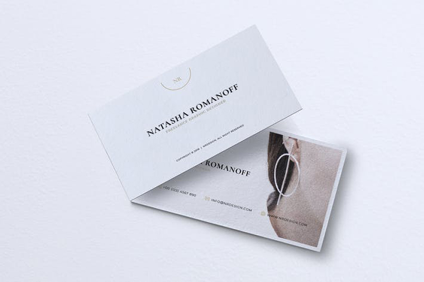 Minimalist Business Card from Envato Elements