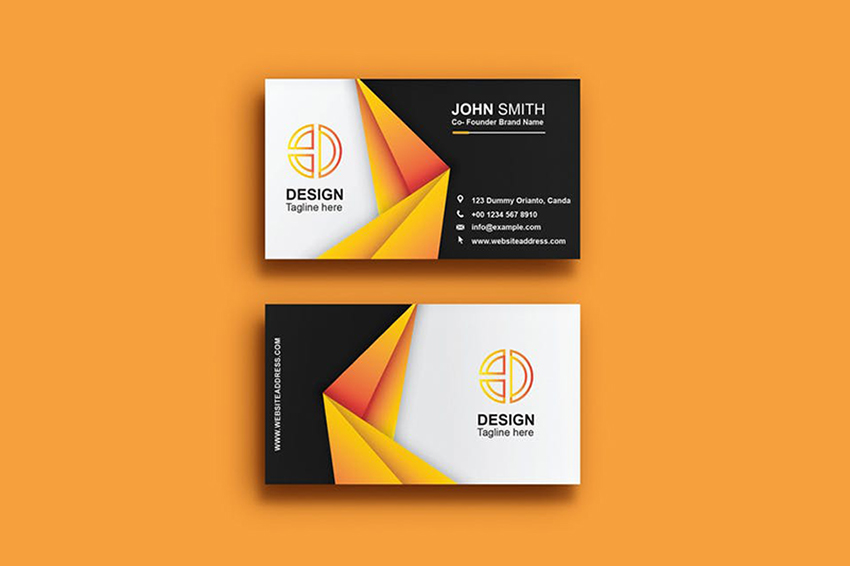 15 Minimal Business Cards With Simple Modern Design Ideas For 2019