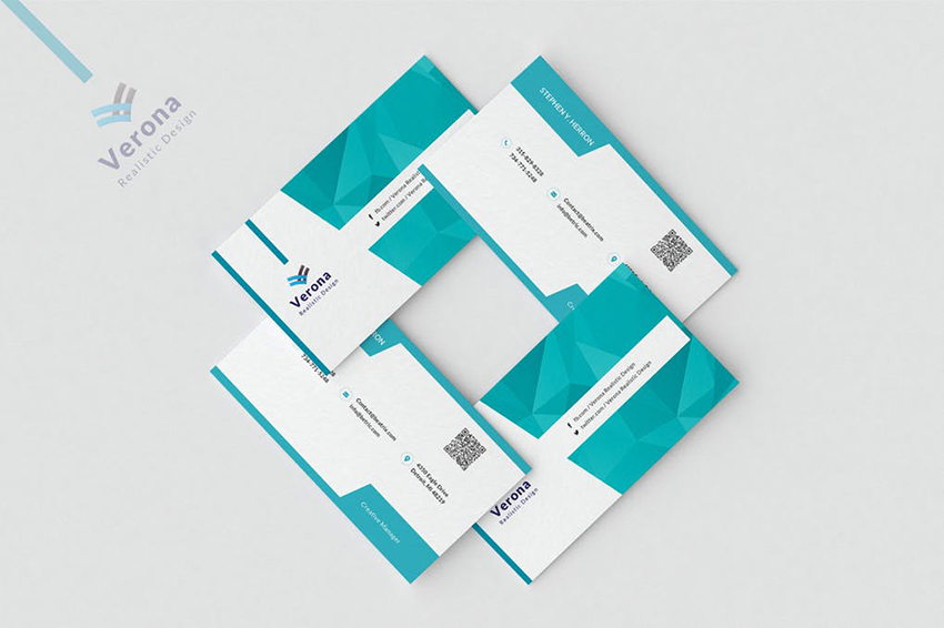 Corporate Business Card for Professionals on Envato Elements