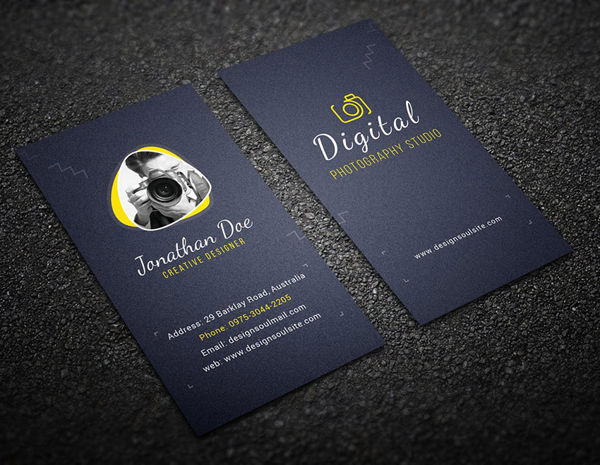25 Best Photography Business Card Designs 2019 Creative