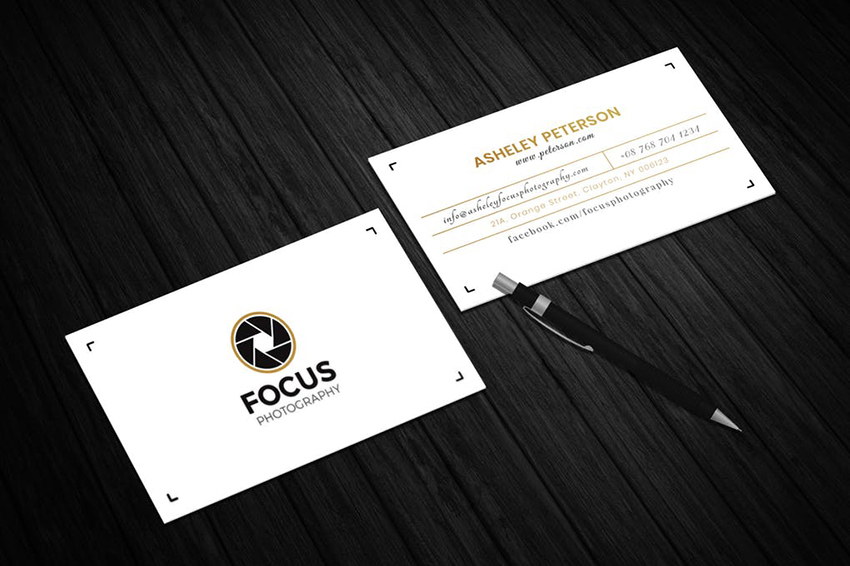 Best Photography Business Cards on Envato Elements