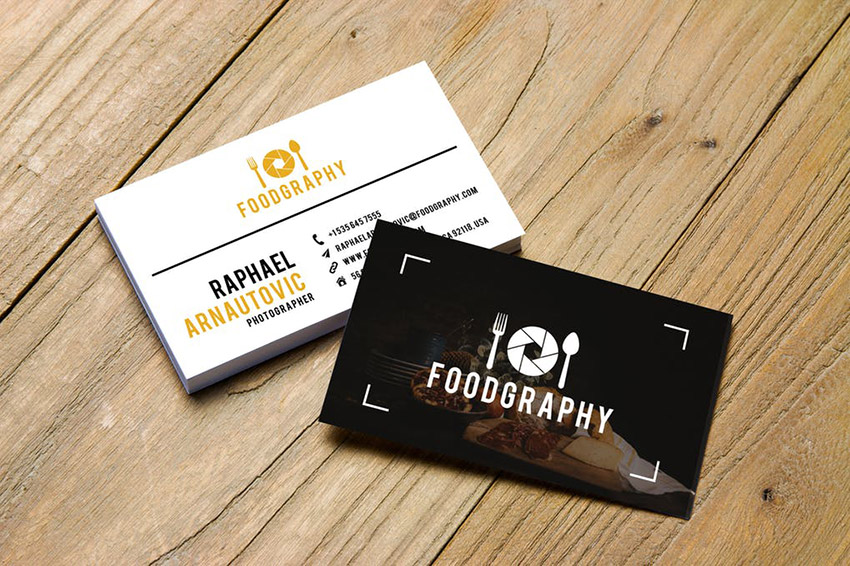 Example of a Strong Brand Name and Logo for a Photography Business