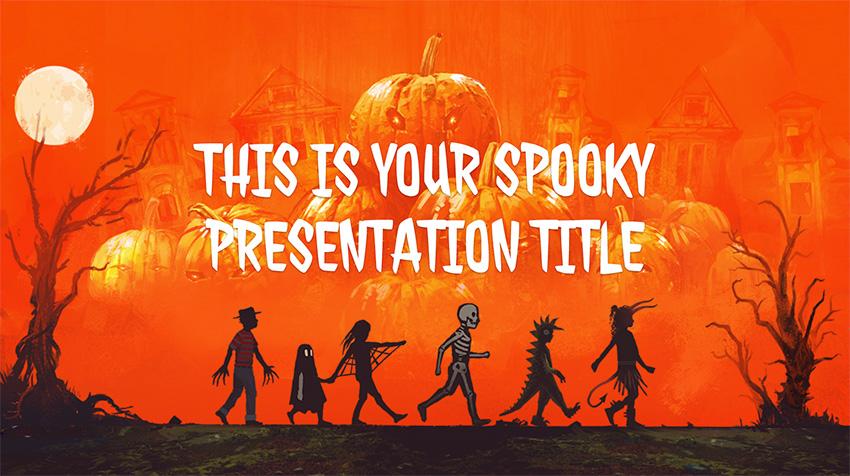 Halloween Free Template