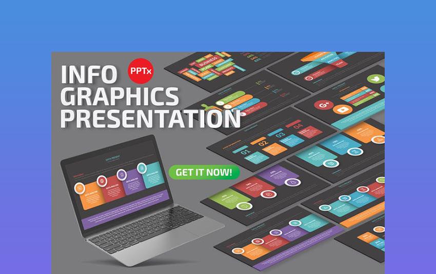 Infographics - Chalkboard Theme PowerPoint