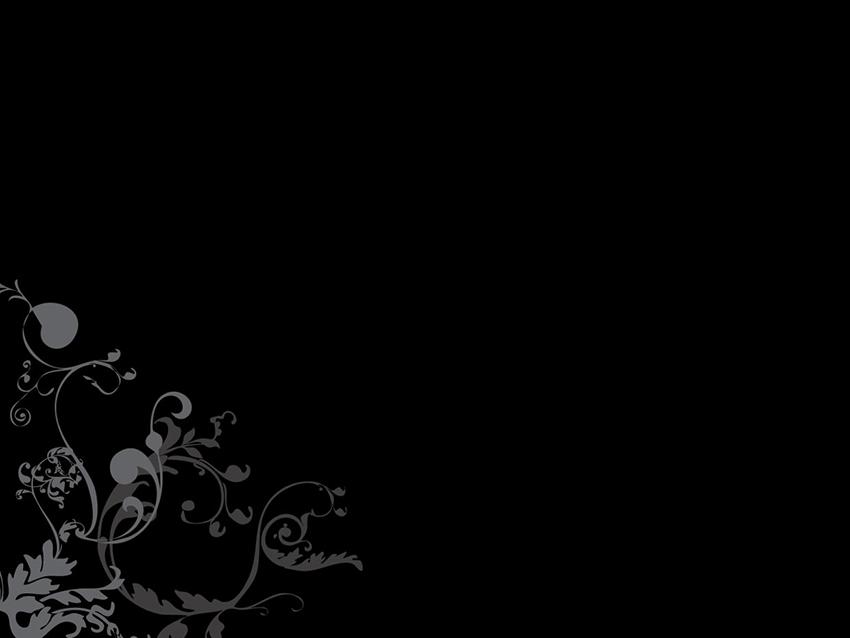 Dark Ornaments - Free Elegant PowerPoint Presentation Templates