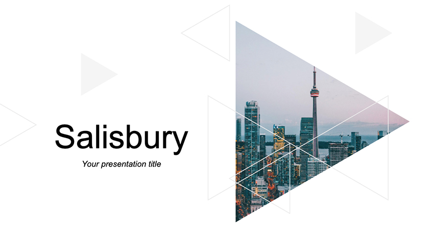 Salisbury - Free Chic PowerPoint Templates